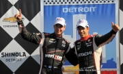 Helio Castroneves, Will Power, Detroit,