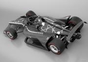 Het Aeroscreen op een IndyCar