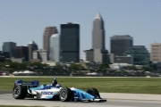 Paul Tracy op Cleveland