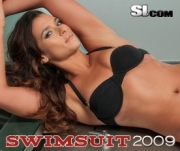 Danica Patrick in de Sports Illustrated Swimsuit Edition