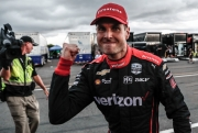 Will Power viert de zege op Pocono