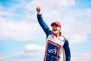 Alex Palou zegeviert op het Barber Motorsports Park