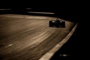 De zon gaat onder op ISM Raceway