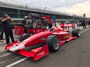 Rinus VeeKay test Indy Lights bij Berlardi Racing tijdens Chris Griffis Memorial - dag 1