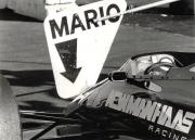 Het stopteken van Mario Andretti in 1985
