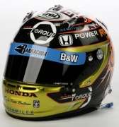 Alex Tagliani helmet