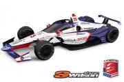 De 2021 Indy 500 kleurstelling van Stefan Wilson