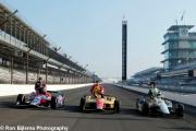 Marco Andretti, Ed Carpenter, Carlos Muñoz, Indianapolis
