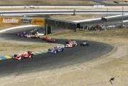 Scott Dixon leidt het veld vanaf pole position in 2006