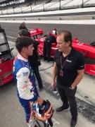 Rinus VeeKay test Indy Lights bij Berlardi Racing tijdens Chris Griffis Memorial - dag 1