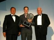 Charles Zwolsman wordt gekroond als 2005 Toyota Atlantic kampioen