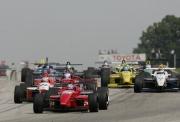 De start van de Toyota Atlantic race op Road America in 2004
