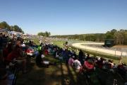 Volle heuvels op het Barber Motorsports Park