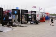 Het IndyCar Series paddock