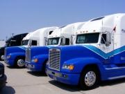 Forsythe Racing was met drie vrachtwagens aanwezig