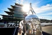 De Borg Warner Trophy op de Indianapolis Motor Speedway