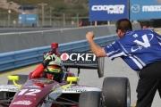 Spencer Pigot wint het Indy Lights kampioenschap op Laguna Seca