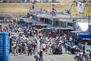 Het Atlantic paddock op Laguna Seca