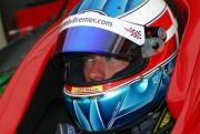 Ronnie Bremer tijdens zijn eerste test voor HVM Racing