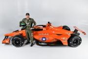 De Indy 500 kleurstelling voor Conor Daly