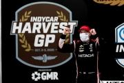 Josef Newgarden wint de vrijdagrace van de Harvest GP