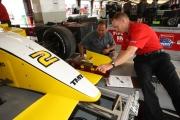 De Technische Inspectie van de Firestone Indy Lights