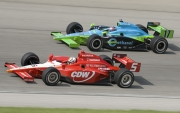 Ryan Hunter-Reay, Oriol Servia, Chicagoland