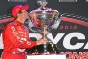 Scott Dixon wint het IndyCar Series kampioenschap in Fontana
