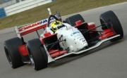 Bruno Junqueira test op Sebring