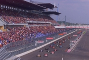 De start van de German 500 in 2001