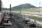 Het IndyCar veld wordt geprepareerd voor de laatste IndyCar race in Japan