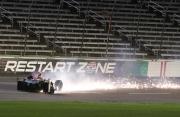 Ed Carpenter crasht op de Texas Motor Speedway