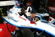 P Diddy met Mark Wahlberg in de IndyCar Series tweezitter