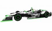 De #24 Dreyer & Reinbold Racing bolide van Sage Karam