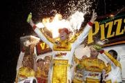 Ryan Hunter-Reay wint op de Iowa Speedway