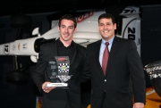 Pagenaud wint de 2012 Rookie of the Year award