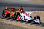Ryan Hunter-Reay, Laguna Seca