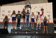 Het podium van de Bommarito Automotive Group 500 op Gateway