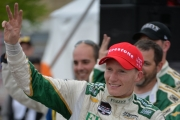 Mike Conway wint in Toronto