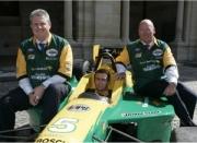 Van links naar rechts: Graig Gore, Marcus Marshall en John Fish
