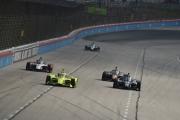 Actie op de Texas Motor Speedway