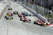 De Champ Car start in Long Beach