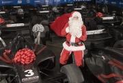 De kerstman kwam vroeg voor de Champ Car teams