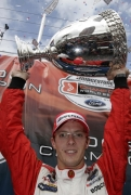 Sebastien Bourdais is voor het derde jaar in rij Champ Car kampioen
