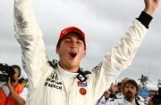 Graham Rahal viert zijn overwinning in St. Petersburg