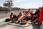 Tristan Vautier maakt zijn pitstop, Barber Motorsports Park