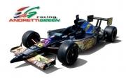 De Star Wars kleurstelling van de wagen van Marco Andretti