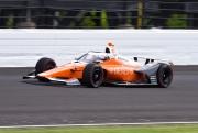 James Hinchcliffe op de Indianapolis Motor Speedway
