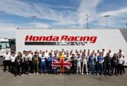 Honda herdenkt Justin Wilson