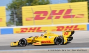 Ryan Hunter-Reay, Milwaukee Mile
